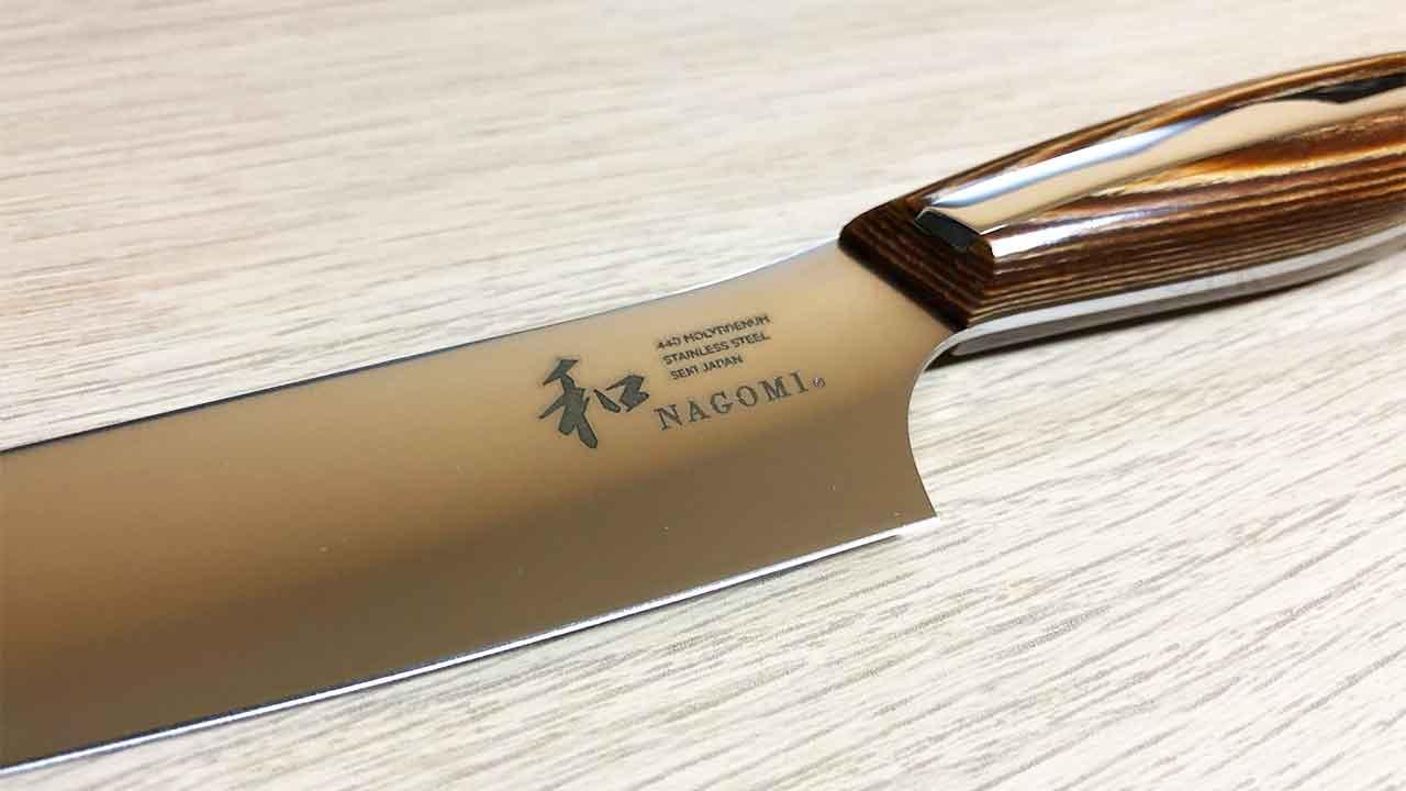 三星刃物「和NAGOMI ペティナイフ」 ロゴ