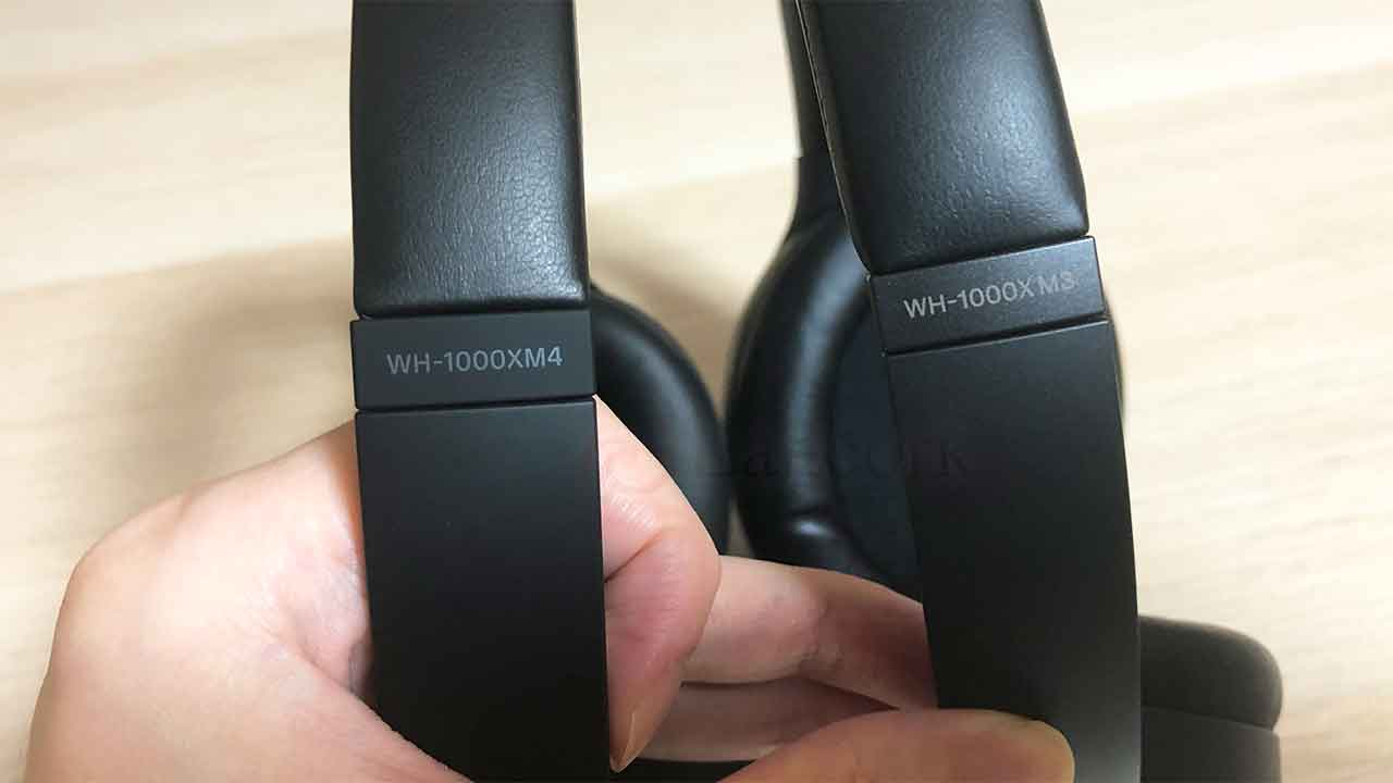 SONYのノイズキャンセリングヘッドホン「WH-1000XM4」前モデルとの比較