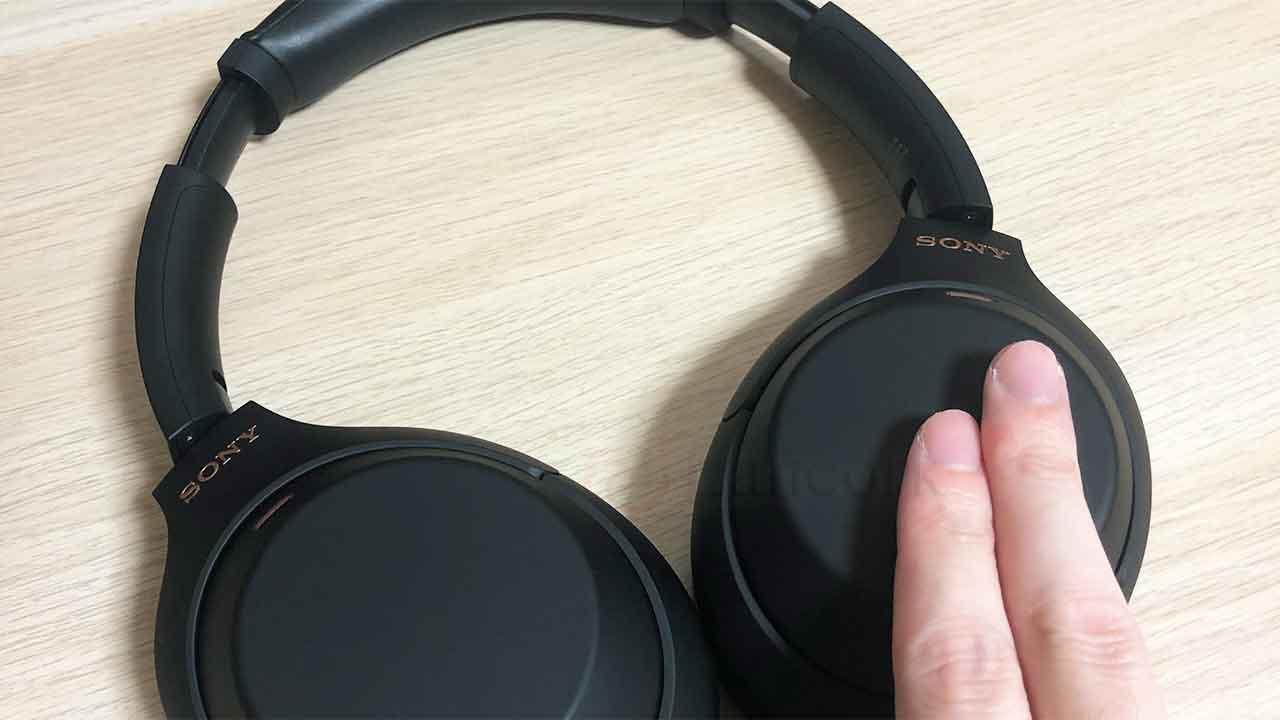 SONYのノイズキャンセリングヘッドホン「WH-1000XM4」スピークトゥチャット