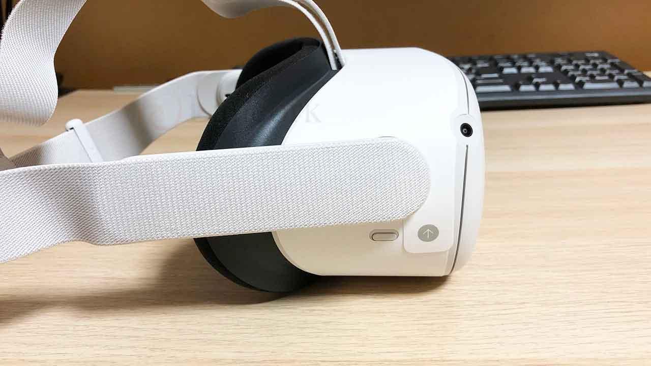 Oculus Quest 2 横から
