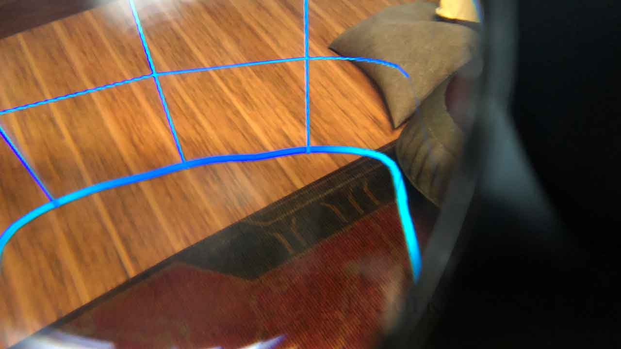 Oculus Quest 2 歩行モードガーディアン