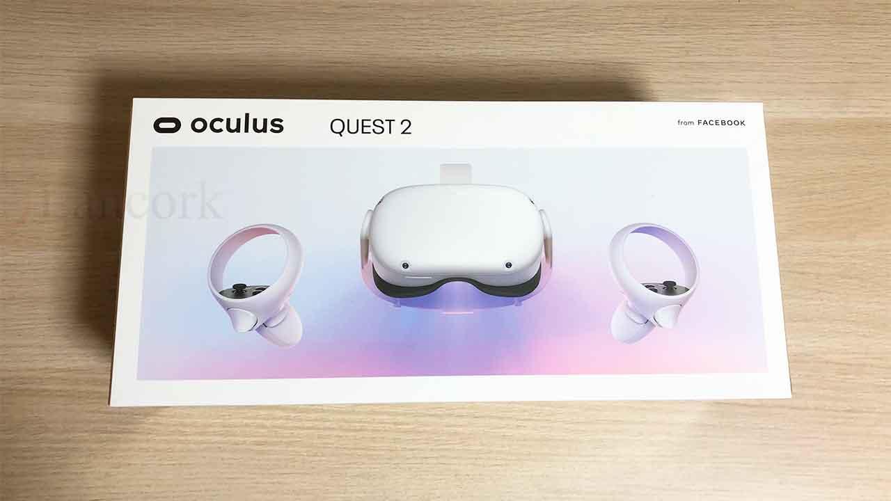Oculus Quest 2 パッケージ