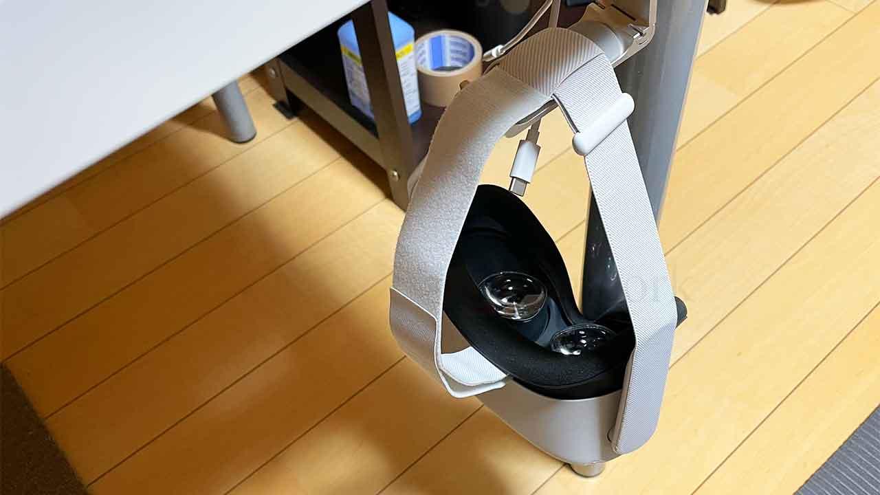 2020年買って良かった ヘッドホンハンガー Oculus Quest2
