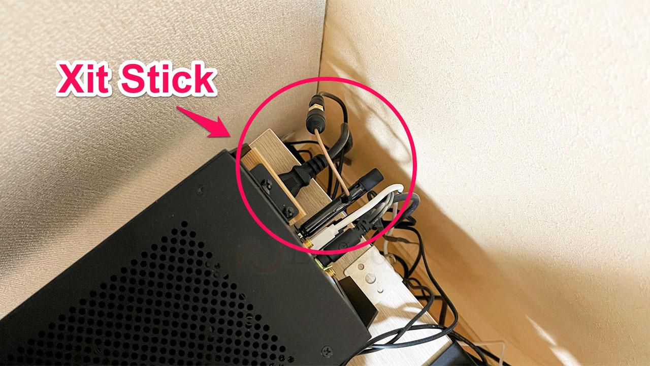 PIXELA「Xit Stick(XIT-STK110) PCに挿したところ