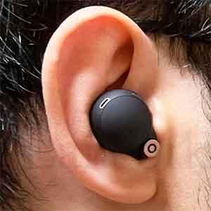 SONYのノイズキャンセリングイヤホン「WF-1000XM4」 着用感